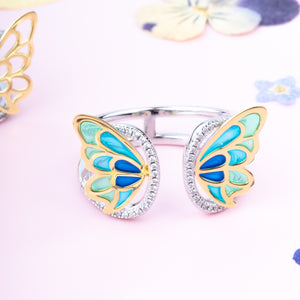 Turkish Wings Butterfly Ring