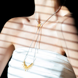 Radiant Beams Transformable Necklace