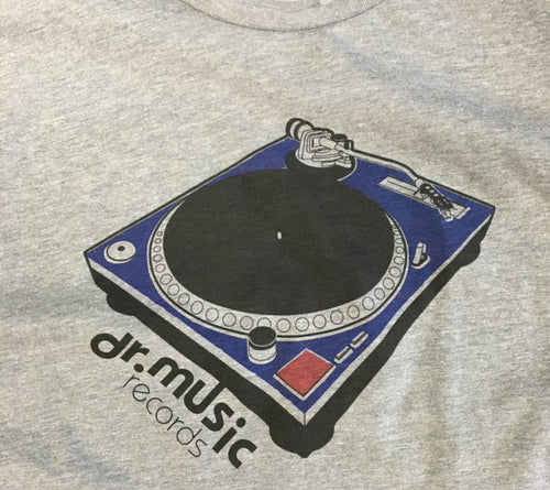 Dr. Music Turntable T-shirt - S-XL