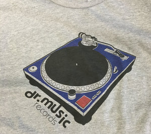 Dr. Music Turntable T-shirt - S-XXL