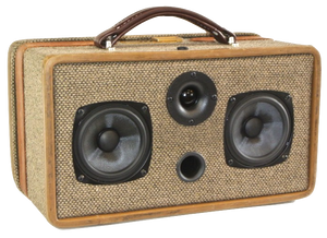 Brown Stand Sonic Suitcase