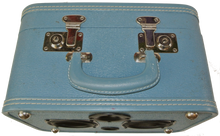 Load image into Gallery viewer, Blue Fuzz Sonic Suitcase