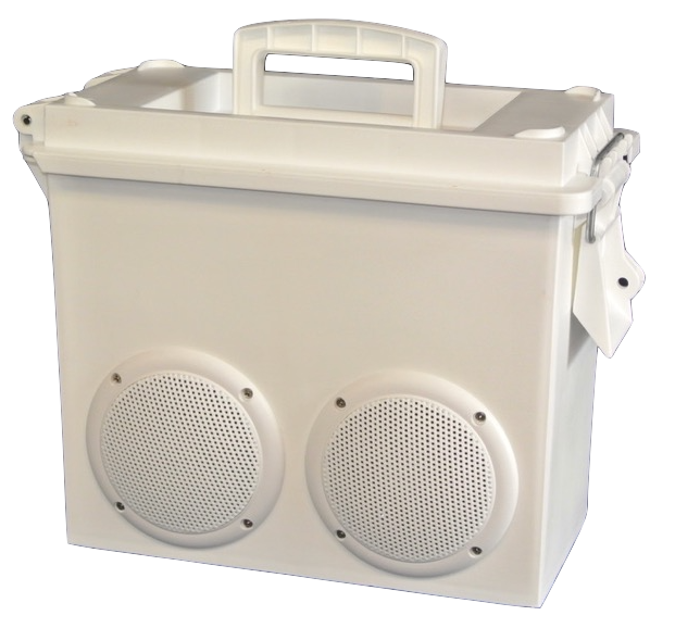 White Fish Sonic Suitcase