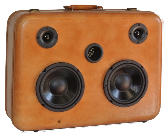 Brown Journey Sonic Suitcase