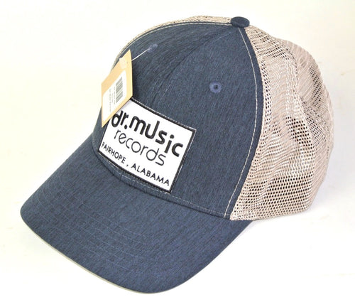 Blue Denim Structured Trucker Hat