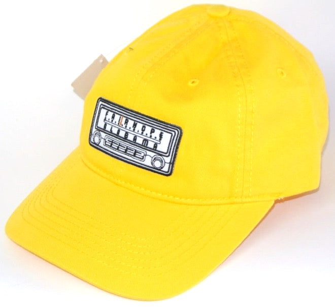 Yellow Fairhope Radio Dad Hat