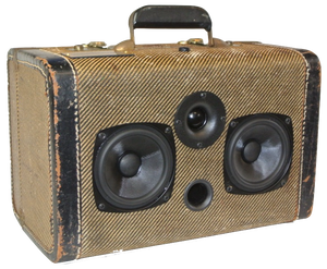 Brown Dylan Sonic Suitcase
