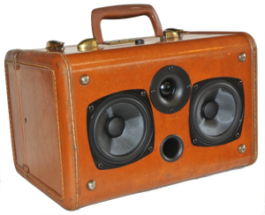 Brown Hartford Sonic Suitcase