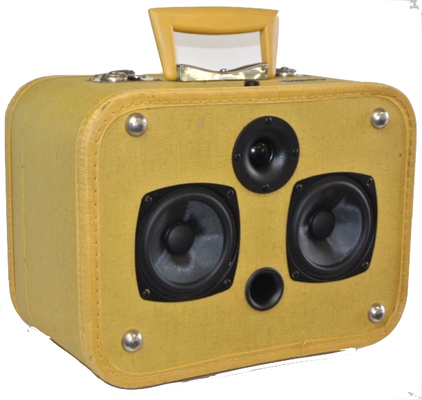 Yellow Ensemble Sonic Suitcase