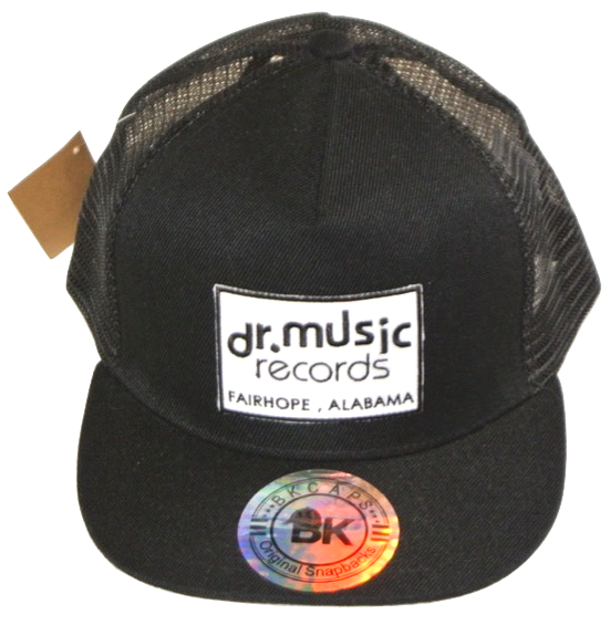Dr. Music Flat Bill Snap-back Hats