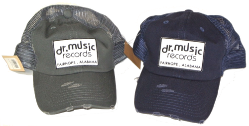 Dr. Music Unstructured Vintage Trucker Hats