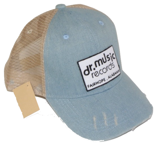 Dr. Music Structured Vintage Trucker Hat