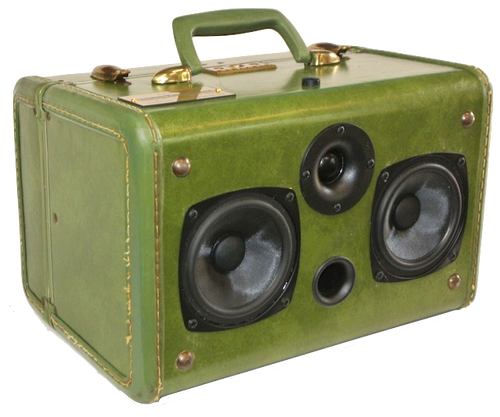 Green Cali Sonic Suitcase