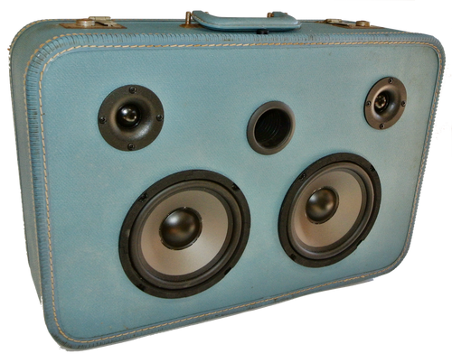Blue Mathis Sonic Suitcase