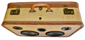 Brown Jan Sonic Suitcase