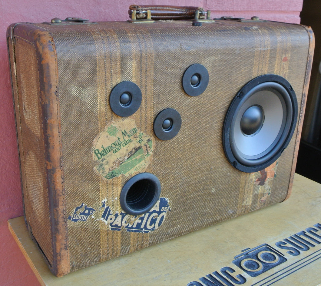 Brown Squire Sonic Suitcase