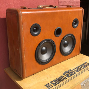 Brown Crawl Sonic Suitcase