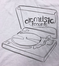 Load image into Gallery viewer, Dr. Music Turntable T-shirt