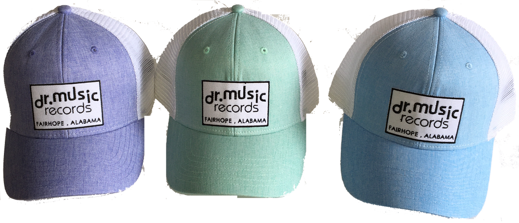 Dr. Music Powder Color Structured Trucker Hat