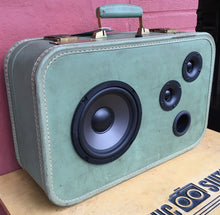 Load image into Gallery viewer, Green Face Sonic Suitcase