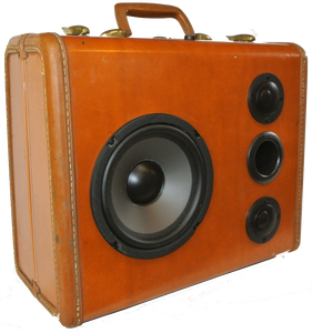 Brown Buccaneer Sonic Suitcase