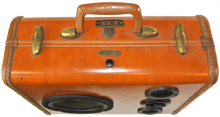 Load image into Gallery viewer, Brown Buccaneer Sonic Suitcase