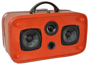 Orange-Ina Sonic Suitcase