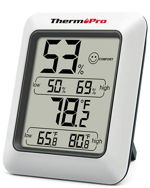 https://www.amazon.com/ThermoPro-TP50-Digital-Thermometer-Temperature/dp/B01H1R0K68/ref=sr_1_4?keywords=hygrometer&qid=1584636834&sr=8-4)