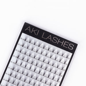 12D Mixed Premade Fans - Aki Lashes
