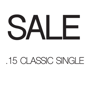 Sale - .15 Classic Lashes Single Length - Aki Lashes