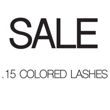 Load image into Gallery viewer, Sales - Classic Colored Lashes - .15 Diameter - Aki Lashes
