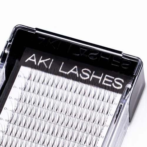 3D Mixed Premade Fans - Aki Lashes