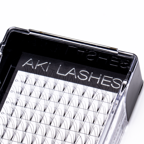4D Mixed Premade Fans - Aki Lashes