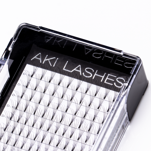 5D Mixed Premade Fans - Aki Lashes