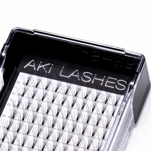 6D Mixed Premade Fans - Aki Lashes