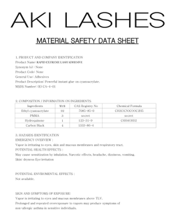 Adhesivo Rapid Extreme Lash 5ml - Aki Lashes