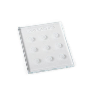 Glass Adhesive Palette - Aki Lashes