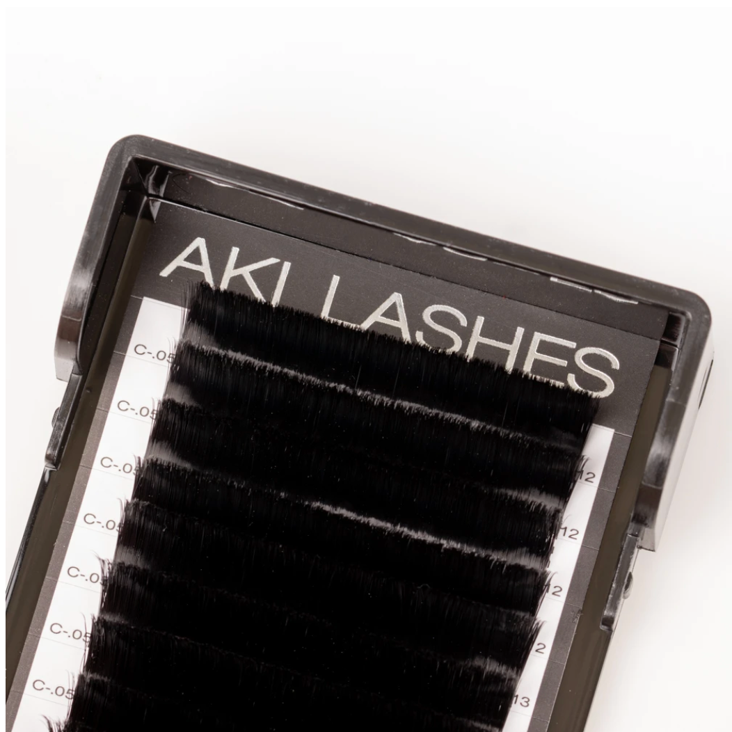 Smart Russian 0.07 Single Volume Lashes - Aki Lashes