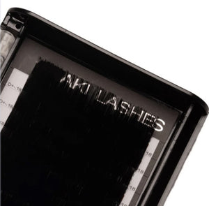 Sale - .18 Classic Lashes Single Length - Aki Lashes