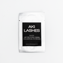 Load image into Gallery viewer, Black Collagen Gel Eye Patches - Aki Lashes