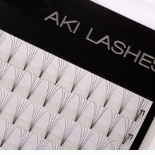 Load image into Gallery viewer, Sale - 3D Mixed Premade Fans - Aki Lashes