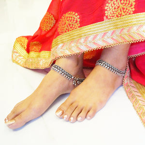 The Ambi Kalakriti Anklet (Pair)