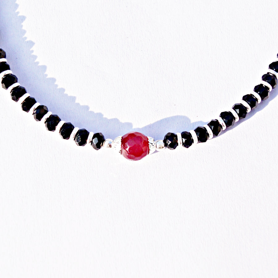 The Coloured Big Bead Nazariya Anklet (Single/Pair)