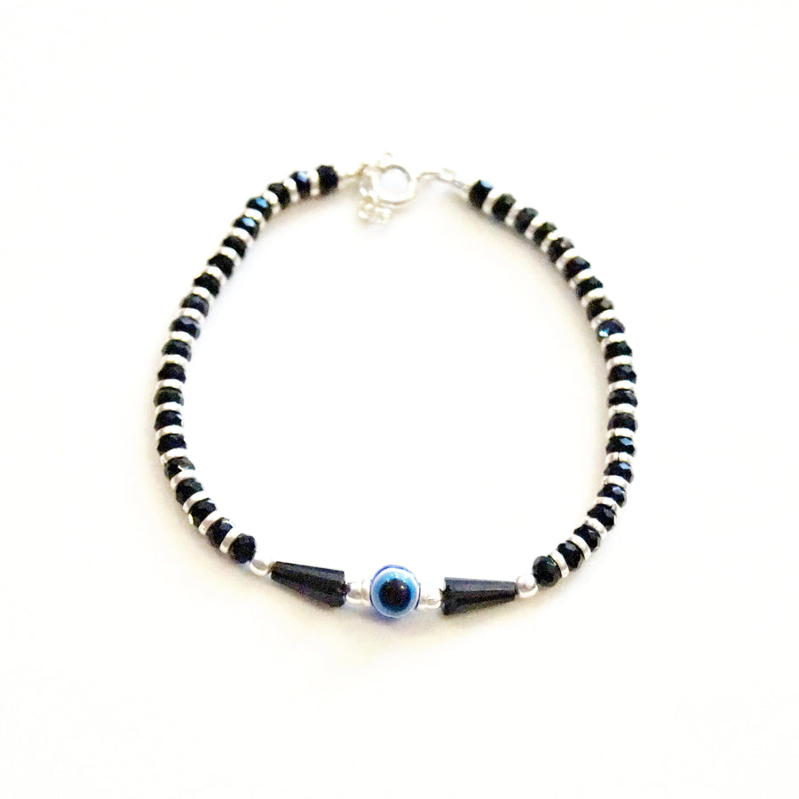 Evil Eye with Pear Beads Nazariya Bracelet