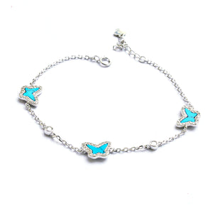 The Turquoise Butterfly Bracelet