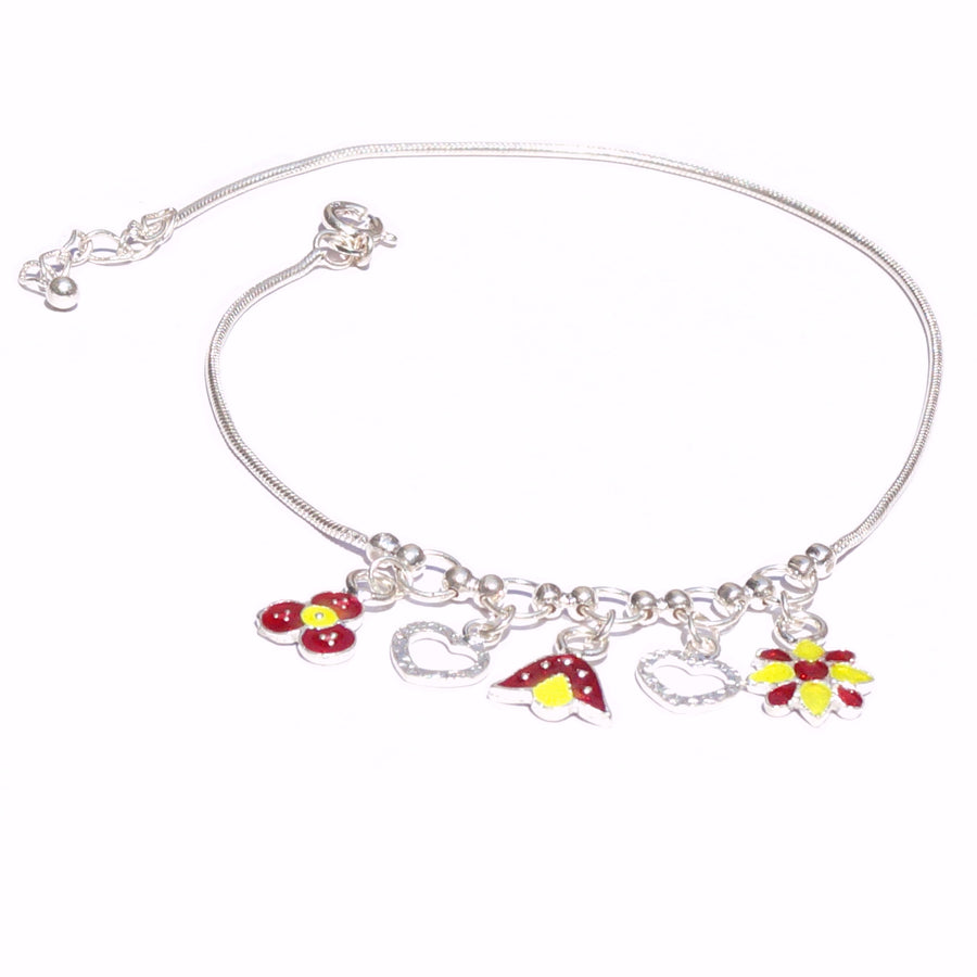 Puzzle of Beauty & Love Anklet (Single/Pair)