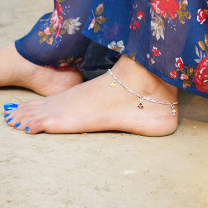 Dainty Charm Anklet (Single/Pair)