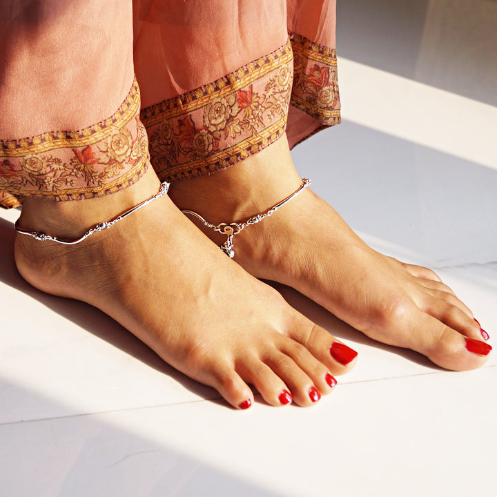 The Nalki Beaded Anklet (Pair)