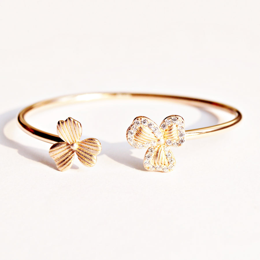 The Heart Flower Kada Bracelet