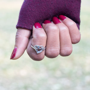 The Midi cum Casual Love Ring